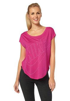Nike T-Shirt »BRTHE TOP SHORT SLEEVE EXT PLUS SIZE« d28a2dedb