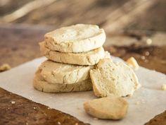 Mürbe Low-Carb-Mandel-Limetten-Kekse