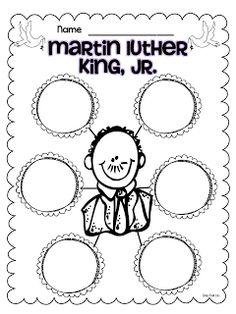 Classroom Freebies Too: Martin Luther King Jr Freebies