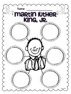 Classroom Freebies Too: Martin Luther King Jr Freebies