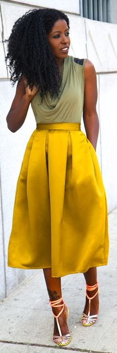 Mustard/gold And top shape?