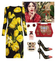 """""""D&G Floral🌻🌷"""" by parnett ❤ liked on Polyvore featuring Dolce&Gabbana and David Yurman"""