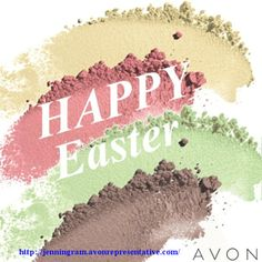 Happy Easter to our Avon Representatives & Fans! We hope you have a beautiful day with family and friends.