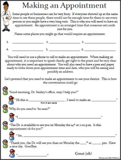Printables Daily Living Skills Worksheets teaching life skills activities and student centered resources on 14 worksheets