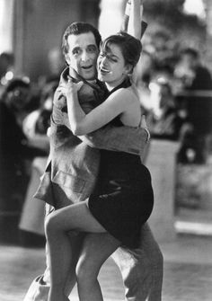 "Al Pacino and Gabrielle Anwar in ""Scent of a Woman"""