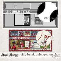 Side by Side Slugger Template by Misty Cato