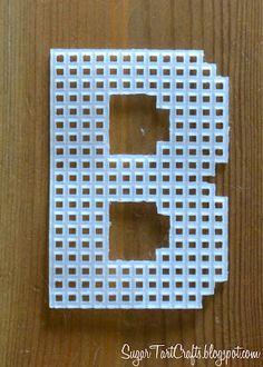 Charts of Plastic Canvas Alphabet  ~~