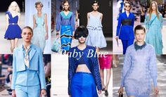 Blue is the colour! Trend forecast ss14