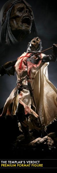 Based on a gruesome account from the Curators of THE DEAD, a tale of bitter betrayal and revenge from beyond the grave, the Templar's Verdict Premium Format fig Sideshow Collectibles, Statues, Toys, Fictional Characters, Collection, Activity Toys, Clearance Toys, Effigy, Gaming