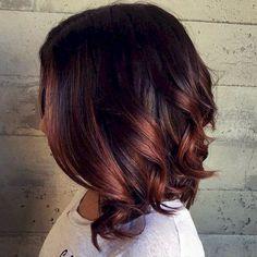 Pin by niina on meikki ja hiukset pinterest hair coloring 30 best brunette hair color ideas to try highlights short haircopper highlightsombre pmusecretfo Choice Image