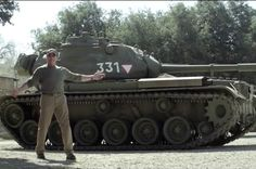 Schwarzenegger buys a tank, wants you to crush things with him for charity --> This is kinda genius.