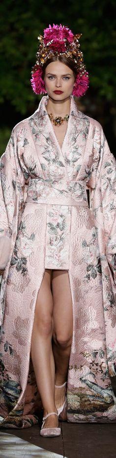 Dolce & Gabbana Alta Moda Fall 2015 couture DGPotofino