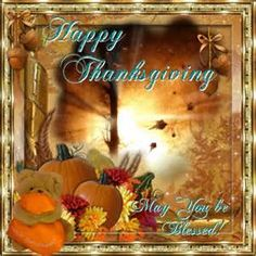 Send happy Thanksgiving to your friends & family just to show you care from your heart. Free online May You Be Blessed ecards on Thanksgiving