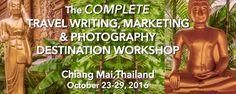 Chiang Mai Travel Writing Destination Workshop