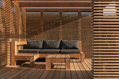 Outdoor Sofa, Outdoor Living, Outdoor Furniture, Outdoor Decor, Facade Architecture, Home Office, Blinds, Lounge, Curtains