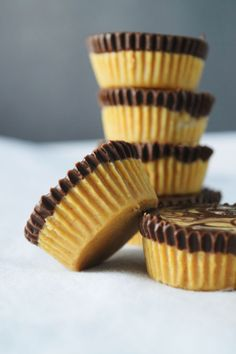 Erdnussbutter Schoko Cups! 3 unglaublich gute Erdnussbutter-Schokoladen-Rezepte!