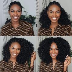 Ideas Crochet Braids Marley Hair Blown Out Kinky Curly Curly Crochet Hair Styles, Crochet Braid Styles, Curly Hair Styles, Natural Hair Styles, Crochet Curly Hairstyles, Crotchet Curly Hair, Curly Crochet Braids, Natural Crochet Hair, Crotchet Styles