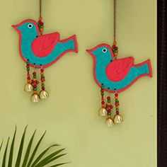 Bird Crafts, Clay Crafts, Wall Decor Online, Creative Arts And Crafts, Home Decor Sets, Cardboard Crafts, Diy Hanging, Room Wall Decor, Diy Wall Art