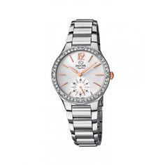 Si buscas un reloj de mujer para hacer un regalo especial y quieres que sea un reloj elegante y duradero que no se pase de moda, te proponemos este reloj Jaguar en acero; un diseño clásico con un toque moderno con el que seguro acertarás. Disponible en http://www.todo-relojes.com/detalle.asp?codigo=28736 por 375€ #relojesJaguar #relojesmujer #paratodalavida #todorelojes
