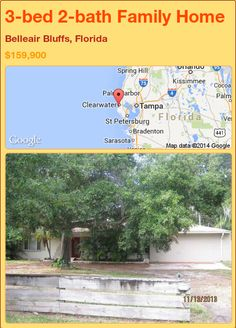 3-bed 2-bath Family Home in Belleair Bluffs, Florida ►$159,900 #PropertyForSale #RealEstate #Florida http://florida-magic.com/properties/75412-family-home-for-sale-in-belleair-bluffs-florida-with-3-bedroom-2-bathroom