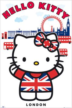 hello kitty kiss poster - Google Search