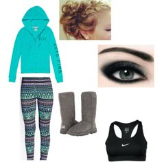 """""""Cute Lazy Day Outfit♥"""" by ayeeitsfaith on Polyvore"""