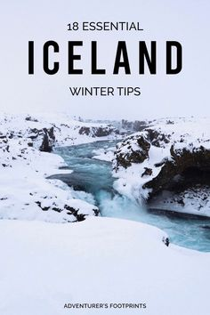 Want to take a trip to Iceland in winter but don't know where to start? From safety advice and packing essentials to budget tips and nice to know information - here are my 18 essential Iceland winter tips.