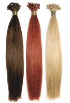SANGRA i10 prírodné vlasy 100 ks na keratine