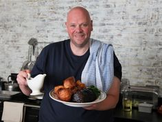 Tom Kerridge, the only chef in the U.K. to run a pub with two Michelin stars wants to show us how to cook dishes inspired by British pub classics, on  Saturdays at 11:30am ET.