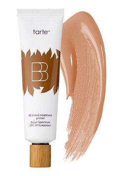"""The Best BB, CC & DD Creams #refinery29  http://www.refinery29.com/bb-cc-dd-creams#slide-2  This sheer but buildable cream can be worn alone to even out the complexion, or under foundation for a flawless base. Plus, unlike most BB creams, this product doesn't offer a very dewy finish, so if you have oily skin, it won't make you look like a grease ball. Tarte BB Tinted Treatment Primer, $36, available at <a href=""""http://www.sephora.com/bb-tinted-treatment-12-hour-..."""