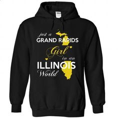 Just a Grand Rapids girl !!! - #shirt girl #tshirt bag. PURCHASE NOW => https://www.sunfrog.com/States/Just-a-Grand-Rapids-girl-5193-Black-Hoodie.html?68278