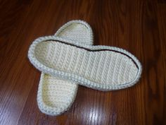 Ravelry: CROCHET SOLES ANY SIZE CUSTOMIZED pattern by Sophie and Me-Ingunn Santini