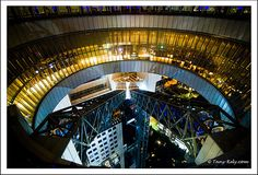 The Umeda Sky Building is the 7th tallest building in Osaka City, Japan. via Flickr