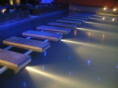 Impressionen Bilder Anwendungen Unterwasserbeleuchtung Ideen