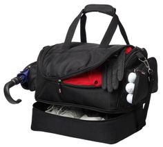 Supreme Double Decker Bag. With Lower Zippered Compartment. A great sporting gift.