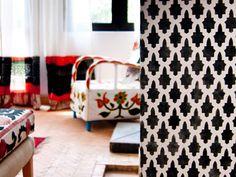 Moroccan Stencil - Allover or border designs inspired from Moorish designs