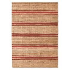Jute Striped Rug - The Industrial Shop™ : Target