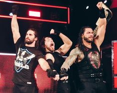 The Shield ❤ Dean Ambrose Seth Rollins, Wwe Seth Rollins, Wwe Superstar Roman Reigns, Wwe Roman Reigns, Wwe Music, Roman Reigns Dean Ambrose, Wwe T Shirts, The Shield Wwe, Wrestling Stars