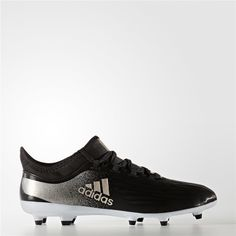 Adidas X 17.2 Firm Ground Cleats (Core Black) Womens Soccer Cleats 3963f9dd544c2