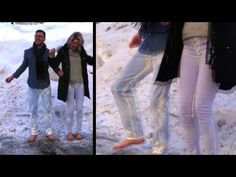 Check out Naked & Famous Denim's newest craziest pair of jeans: Denim that changes colour with heat. Wow!