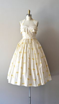 vintage 50s party dress / 1950s dress / Daystar by DearGolden, $168.00