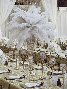 Image result for pink, gray and silver balloon centerpiece with white tablecloth