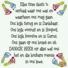 Elke tree skets ñ verhaal. Inspirational Qoutes, Uplifting Quotes, Motivational, Faith Quotes, Life Quotes, Lekker Dag, Gods Princess, Evening Greetings, Afrikaanse Quotes