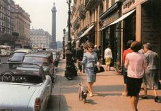 Rue de la Paix - c. 1960s Photo Willy Ronis