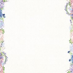 "Bo Bunny - Secret Garden Collection - Vineyard 12""x12"" cardstock"