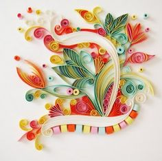 Rivka Guedj: Initials - Quilling
