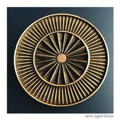 Sunburst 150 – Philip Watts Design Door Pulls, Door Handles, Timber Door, House Front, Bronze Finish, Centre, It Cast, Hardware, Brass
