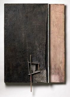 Brian Dickerson, oil, wax, mixed on wood