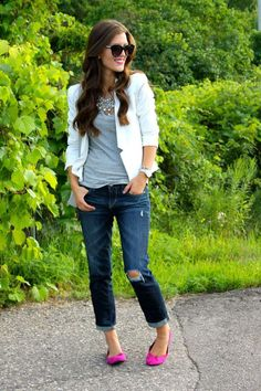 how-to-wear-flats-with-jeans-10-best-outfits-2 How to wear flats with jeans 25 best outfits
