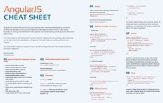 angular cheat sheet - Google Search
